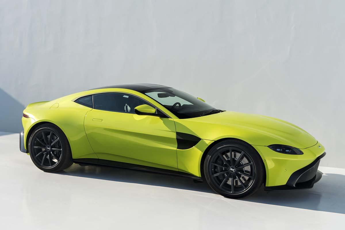 Precios de Aston Martin Vantage 2018