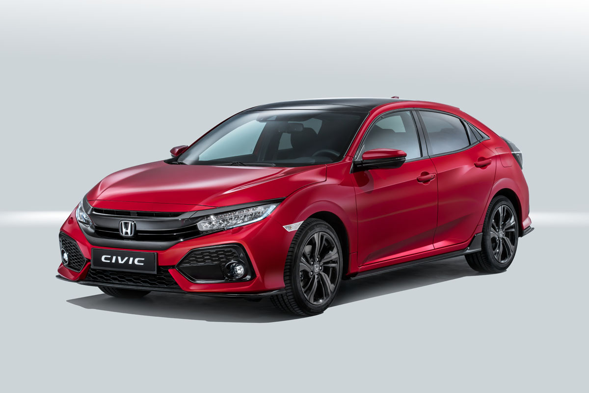 Precios de Honda Civic 2017 1.0 Turbo VTEC 129 Comfort 6V 5p