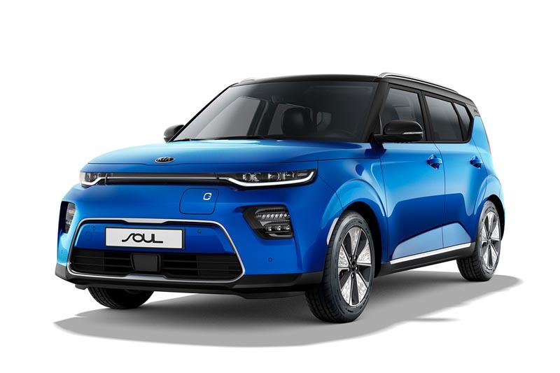Precios de Kia e-Soul 100 kW Concept