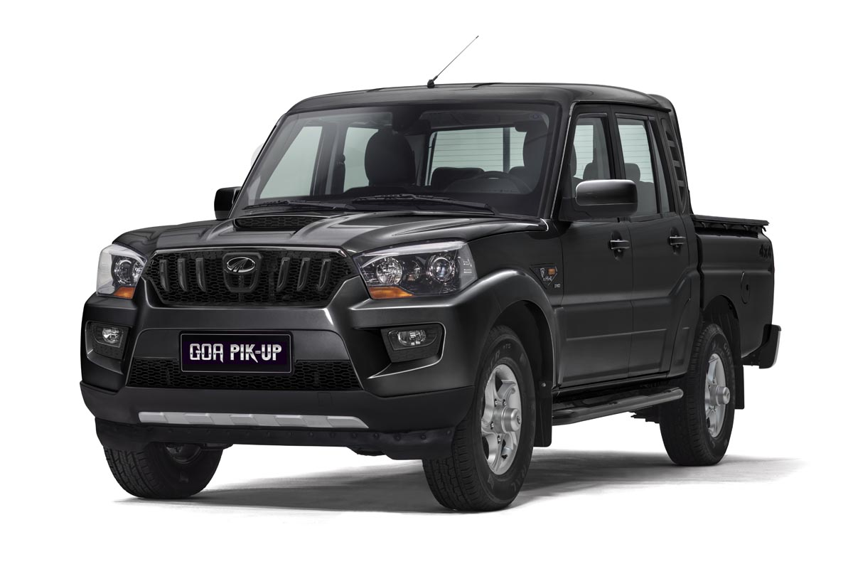 Precios de Mahindra Goa Pik Up Plus Doble Cabina