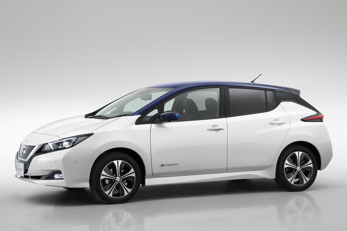 Precios de Nissan Leaf 2018 40 kWh Acenta