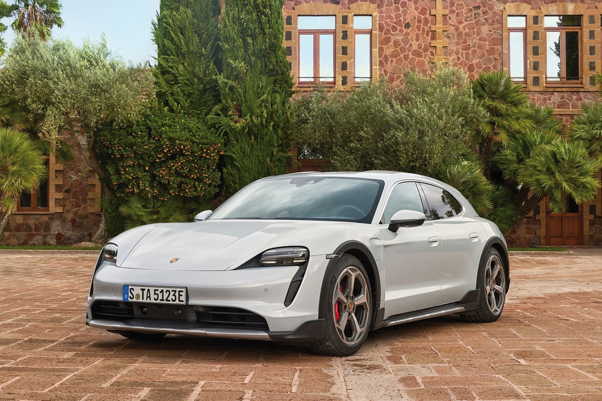 Precios de Porsche Taycan Cross Turismo Turbo S