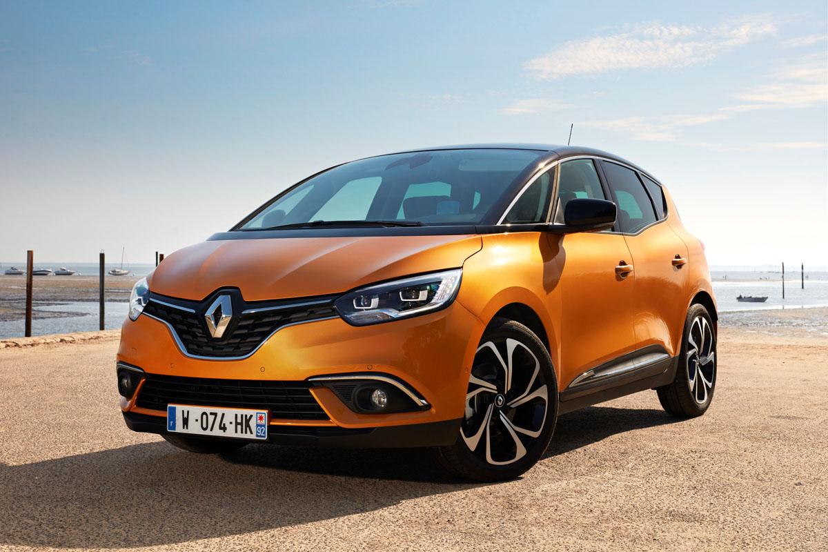 Precios de Renault Scénic 2017