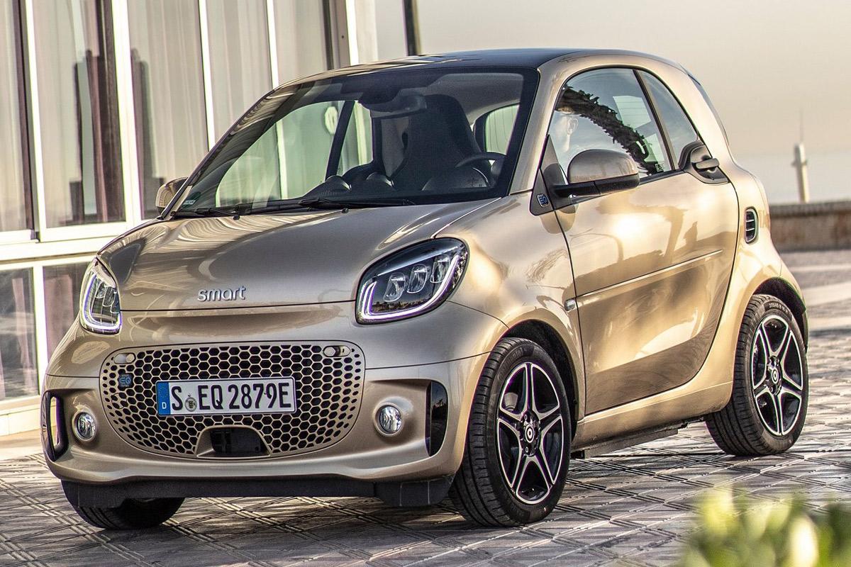 Precios de Smart fortwo coupé EQ fortwo
