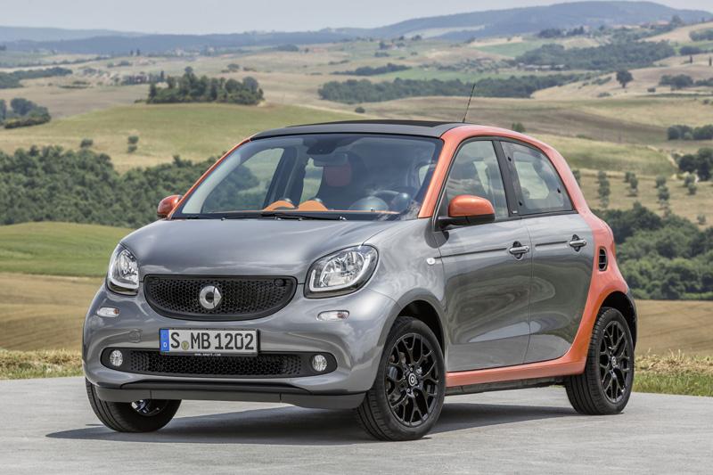 Precios de Smart Forfour electric drive