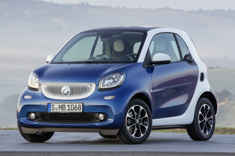 Precios de Smart fortwo coupé electric drive