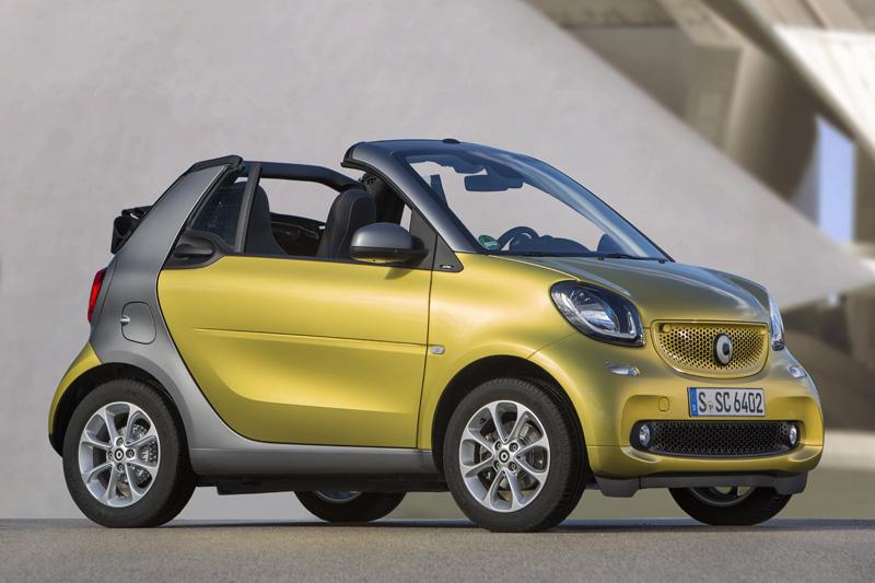 Precios de Smart fortwo cabrio electric drive