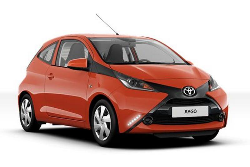 Precios de Toyota Aygo 3p 1.0 70 x-play Aut. 3p